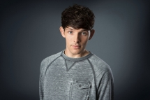 Programme Name: Good Omens - TX: n/a - Episode: n/a (No. n/a) - Picture Shows: Newton Pulsifer (COLIN MORGAN) - (C) BBC - Photographer: Pete Dadds