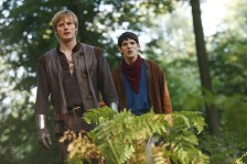 "MERLIN -- ""To Kill The King"" Episode 1.12 -- Pictured: (l-r) Bradley James as Arthur, Colin Morgan as Merlin -- NBC Photo: Nick Briggs"