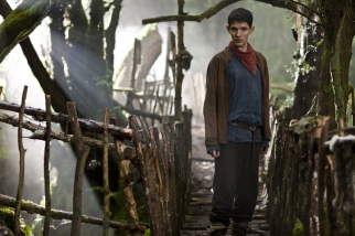 THIS PICTURE IS UNDER EMBARGO UNTIL TUES 26th OCTOBER 2010 Picture shows: Merlin (Colin Morgan) TX: BBC One Week 44