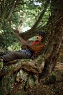 "MERLIN -- ""TBC"" Episode 1.11 -- Pictured: Colin Morgan as Merlin -- NBC Photo: Nick Briggs"