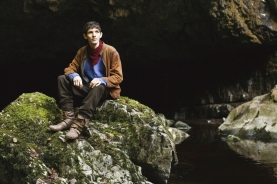 THIS IMAGE IS NOT FOR PUBLICATION UNTIL SATURDAY 5TH DECEMBER, 2009 Picture shows: Merlin (Colin Morgan) TX: BBC One