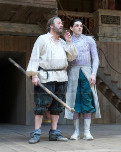THE TEMPEST By William Shakespeare at The Globe Theatre, London, Great Britain press photocall 26th April 2013 Directed by Jeremy Herrin Designed by Max Jones Music by Stephen Warbeck Roger Allam Prospero Colin Morgan Ariel Photograph by Elliott Franks contact: Tel: 07802 537 220 email: elliott@elliottfranks.com www.elliottfranks.com Agency space rates apply editorial use only